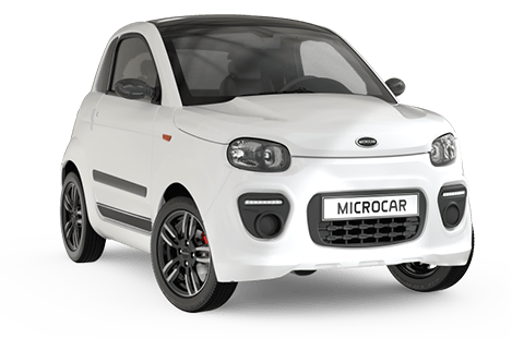 Microcar Due plus pack design blanc glacier
