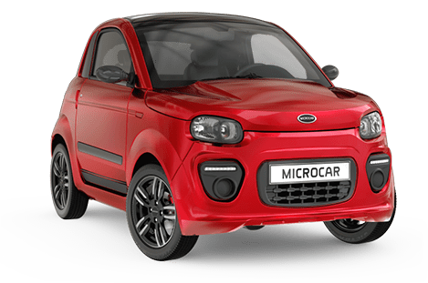 Microcar Due plus pack design rouge toledo