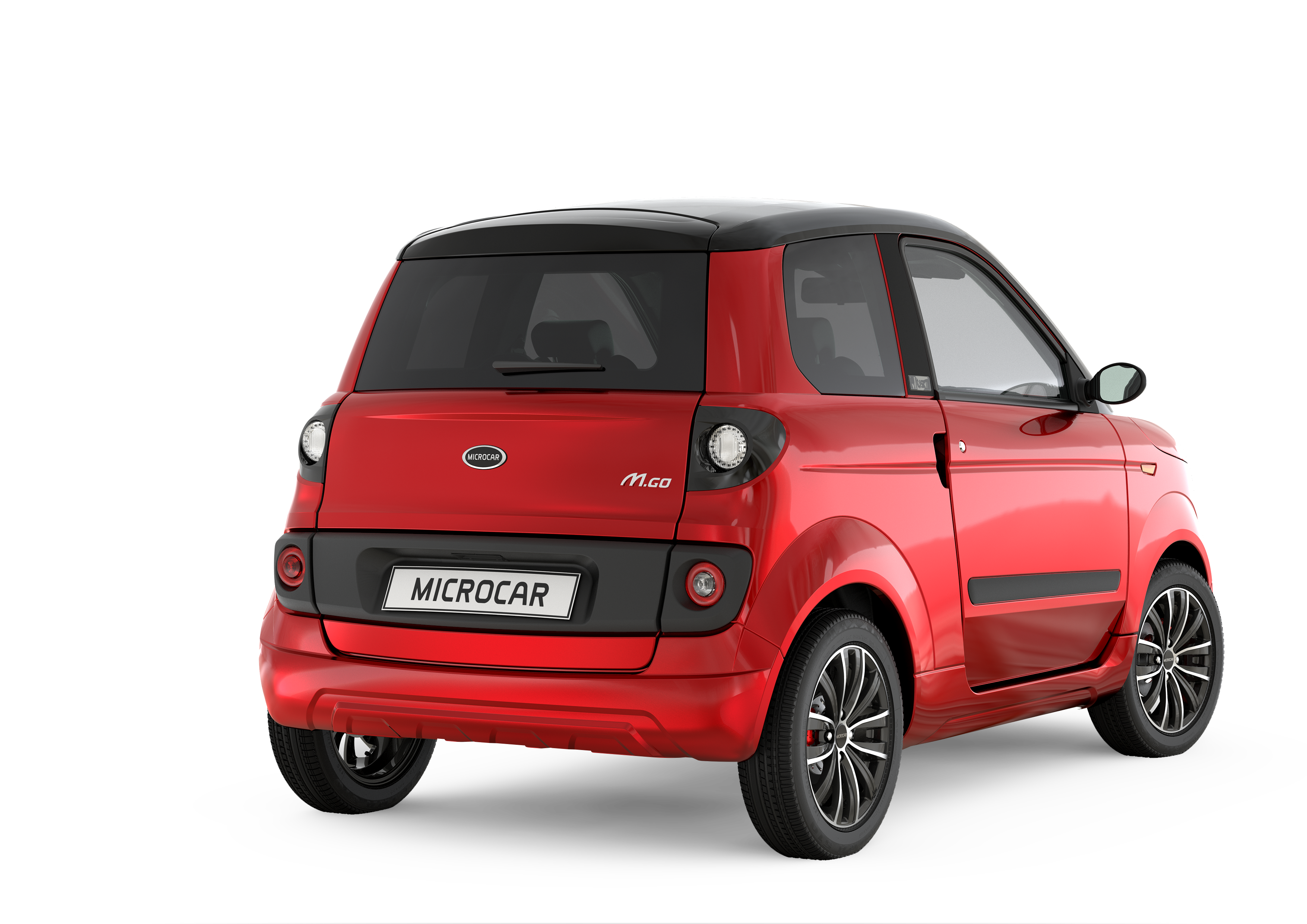 Microcar MGO 3-4 AR MUST ROUGE TOLODEO Brest Auto Diffusion